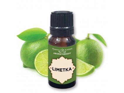 Altevita 100% esenciálny olej LIMETKA – Olej očisty a upratovania 10ml
