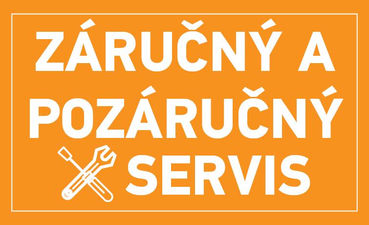 Záručný a pozáručný servis