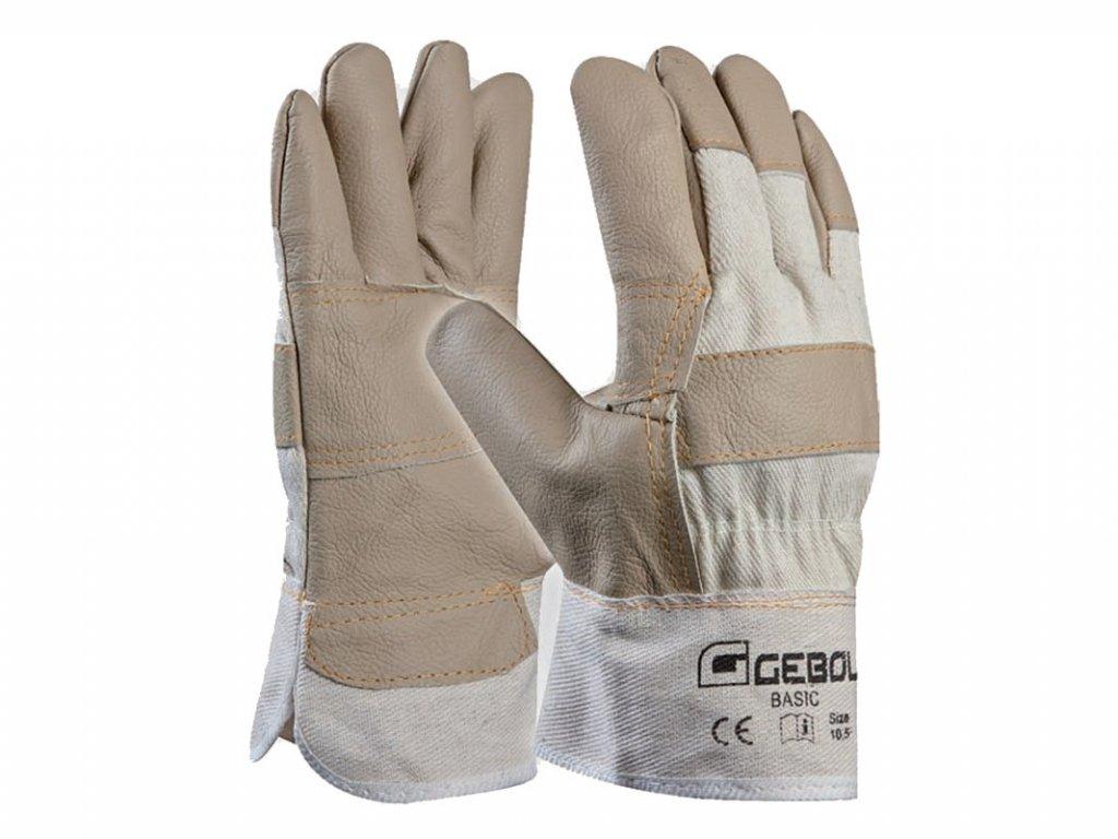Pracovné rukavice GEBOL Basic č.10,5