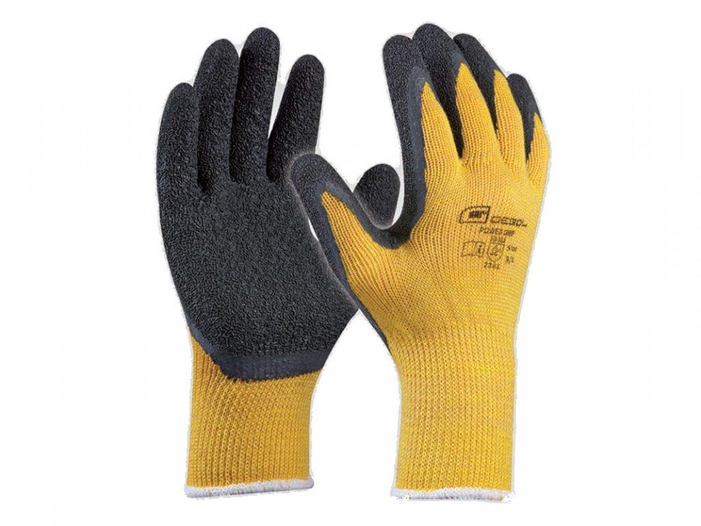 Pracovné rukavice GEBOL Power Grip č.10