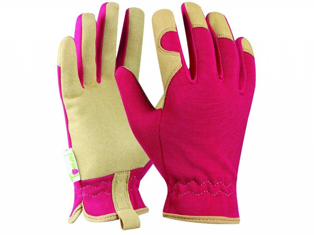 Záhradné rukavice GEBOL Tommi Walnuss veľ. M