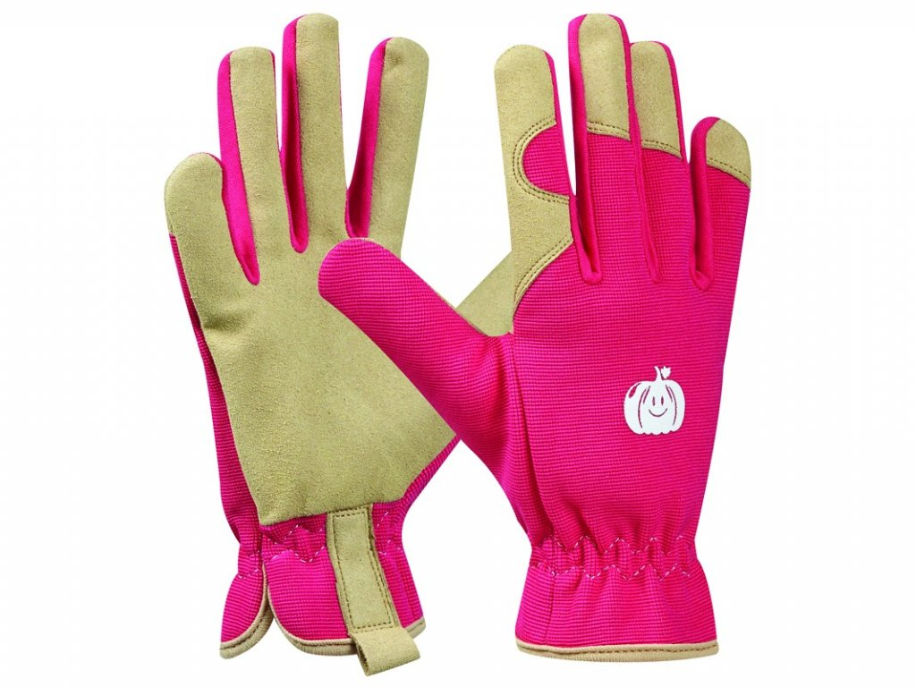 Záhradné rukavice GEBOL Tommi Kurbis pink