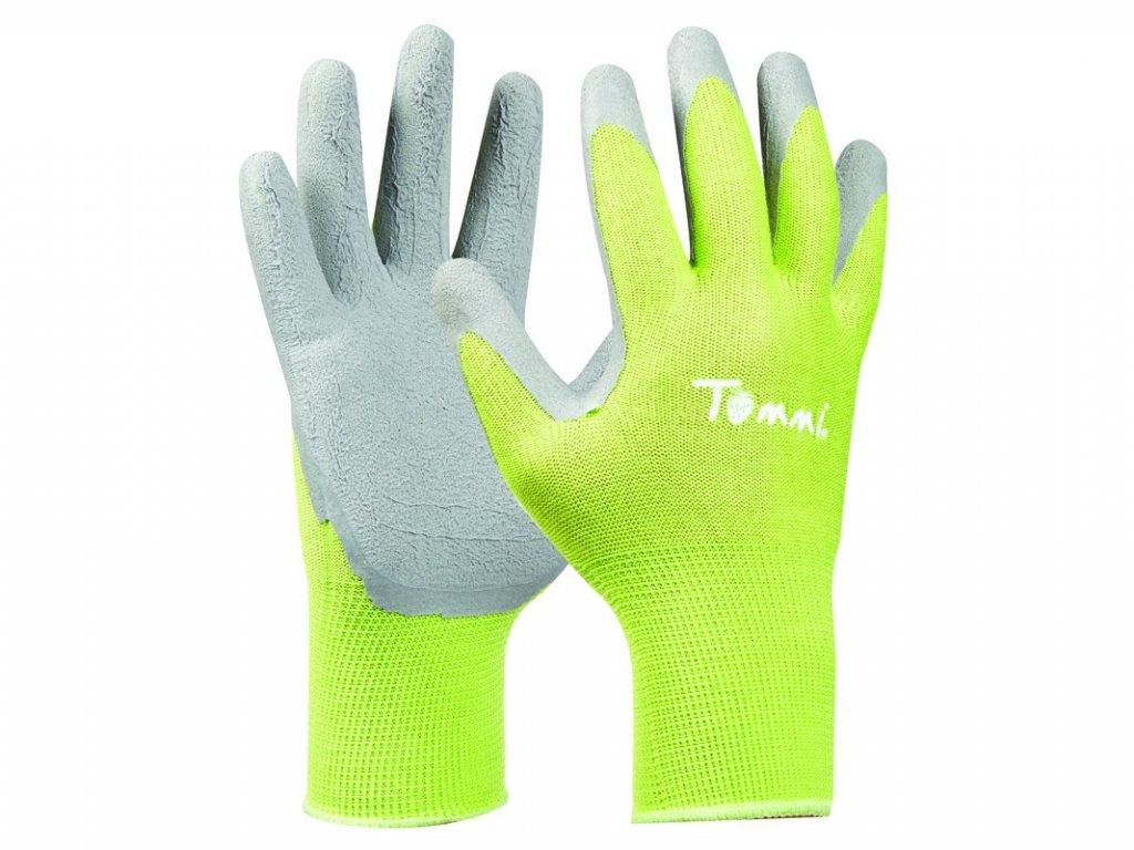 Záhradné rukavice GEBOL Tommi Himbeere veľ. S