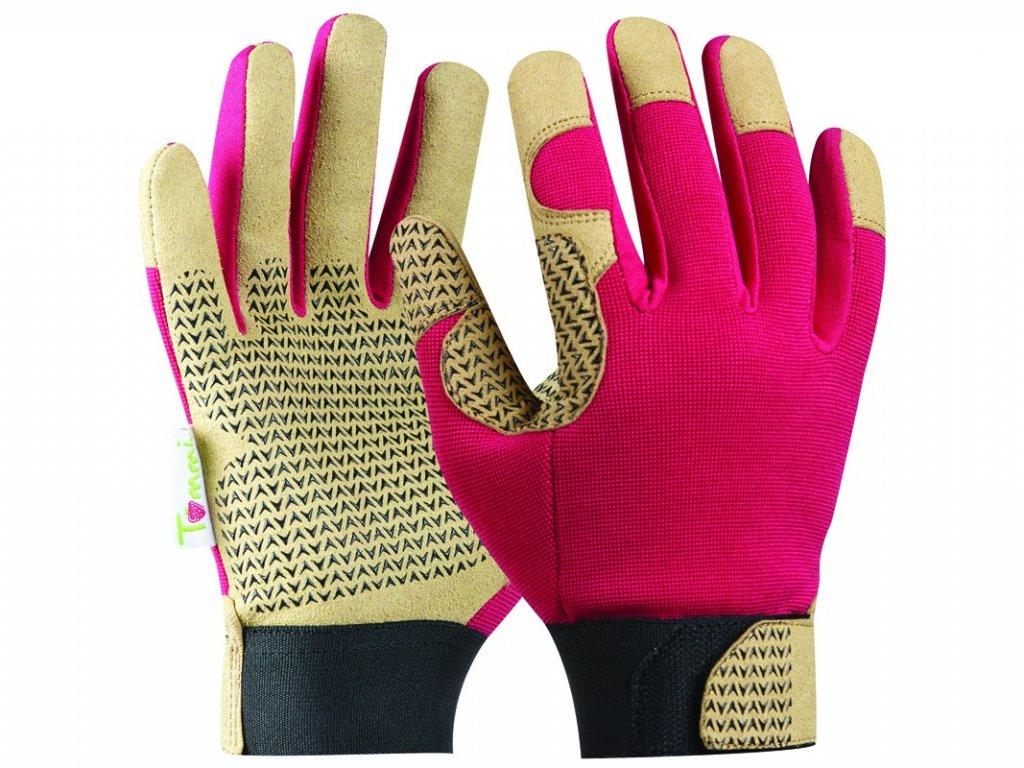 Záhradné rukavice GEBOL Tommi Haselnuss veľ. M