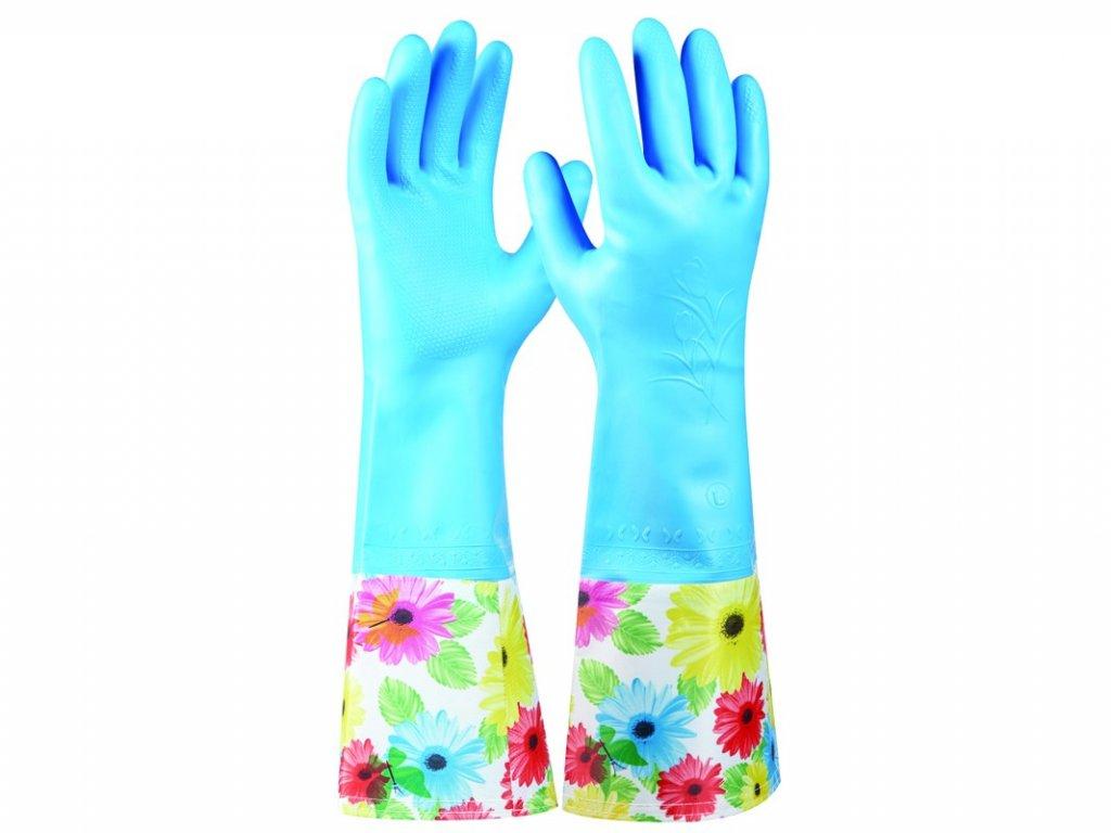 Zahradné rukavice GEBOL Tommi Zitrone veľ. L