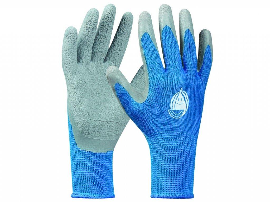 Záhradné rukavice GEBOL Tommi Melone blau