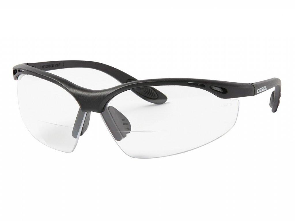 Ochranné okuliare dioptické GEBOL Reader +3,0
