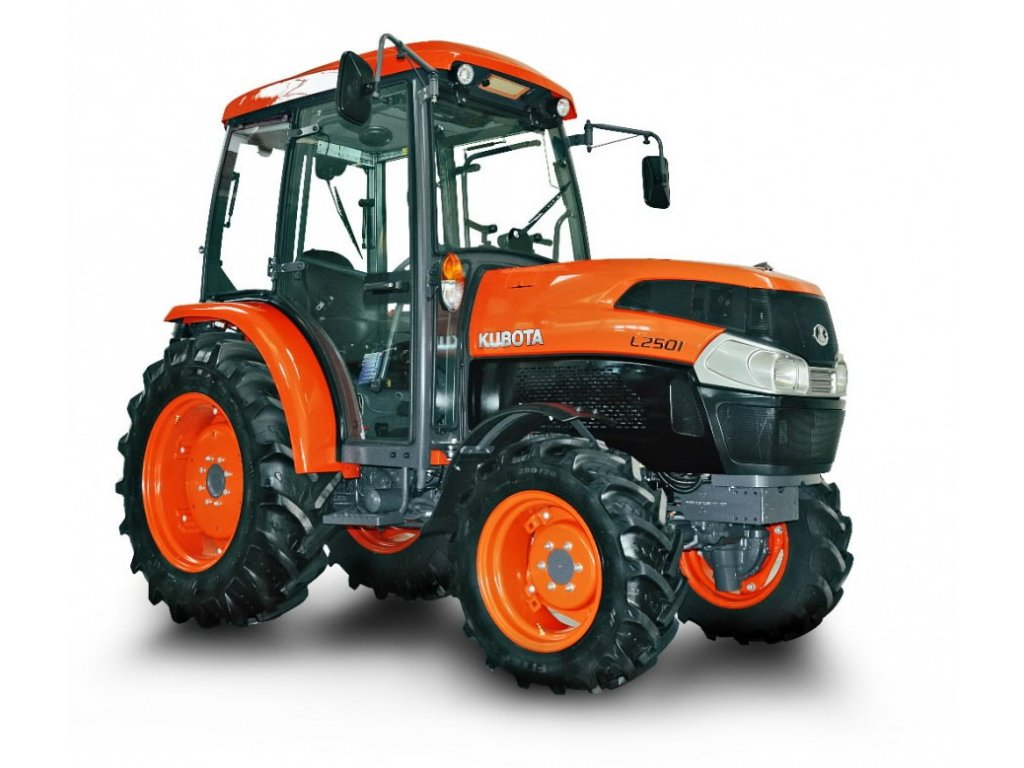 Traktor Kubota L2501 kabína s klimatizáciou
