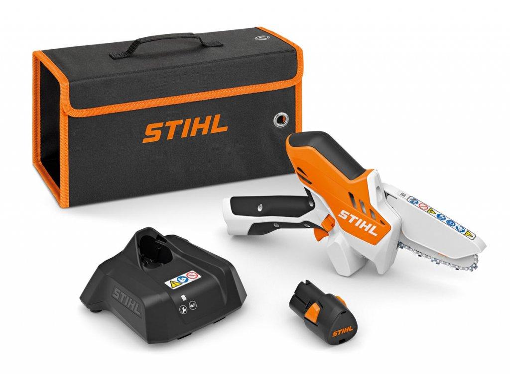 Akumulátorová reťazová píla STIHL GTA 26 set