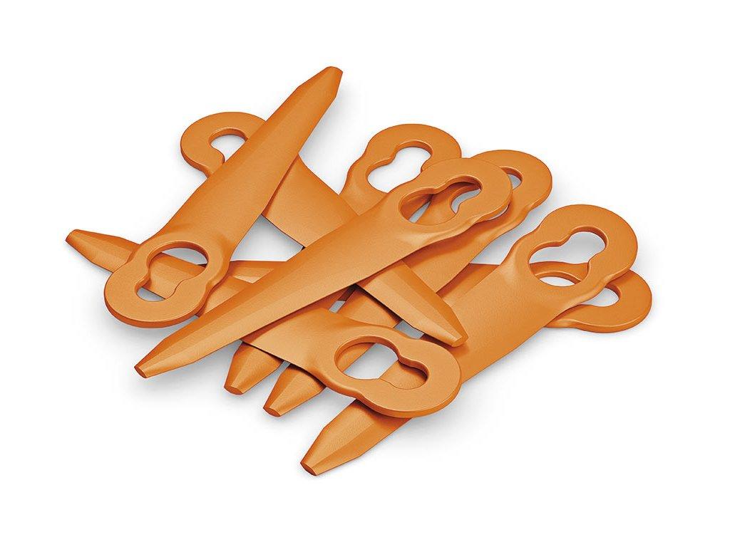Sada plastových nožov pre PolyCut 2-2