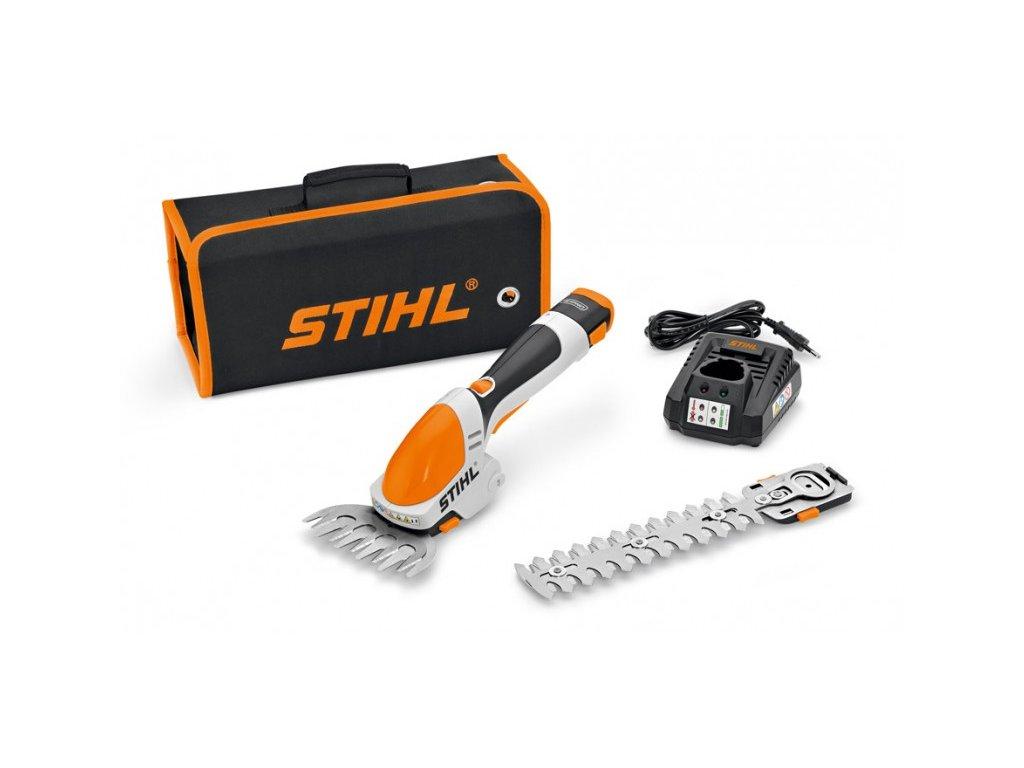 Akumulátorové záhradné nožnice STIHL HSA 25 set