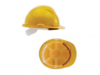 Ochranná prilba GEBOL BAU žltá