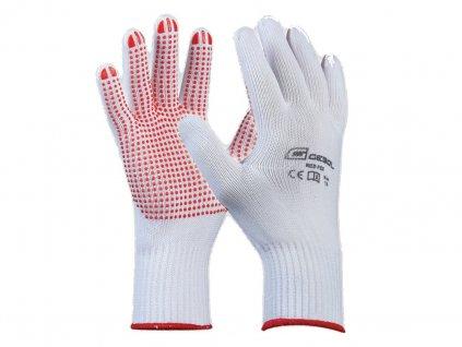 Pracovné rukavice GEBOL Red Flex č.10