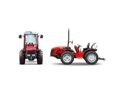 Traktor Antonio Carraro TRX5800, kabína