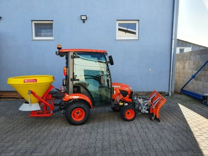 Traktor Kubota BX261 - zimny set