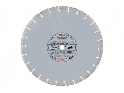 Diamantový rozbrusovací kotúč - Betón (B) 350 mm D-B10
