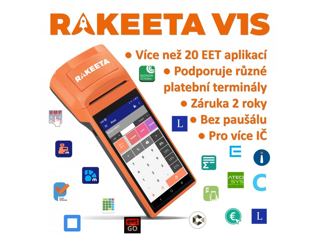 Rakeeta V1S 00 aplikace