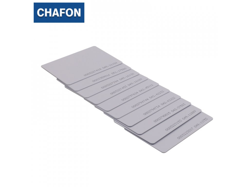 Chafon G9102 - RFID karta