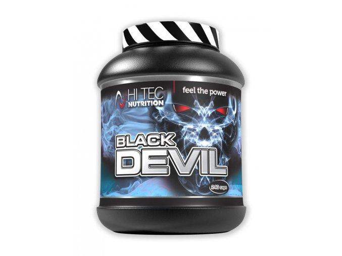 Hi Tec Nutrition Black Devil 240 kapslí  + šťavnatá tyčinka ZDARMA