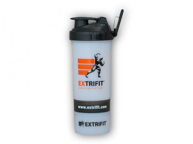 Extrifit Shaker Extrifit Triple transparent 600ml