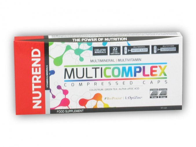 Nutrend Multicomplex Compressed Caps 60cps