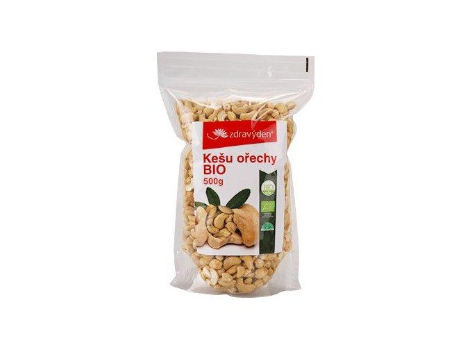 Zdravý den Kešu ořechy BIO 500g