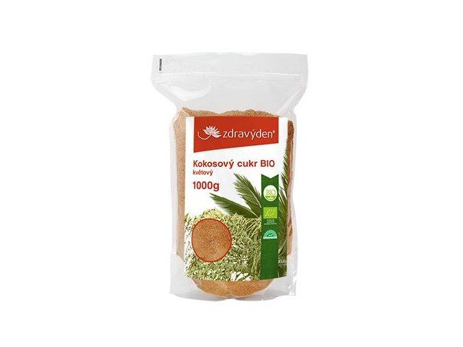 Zdravý den Kokosový cukr BIO květový 1000g