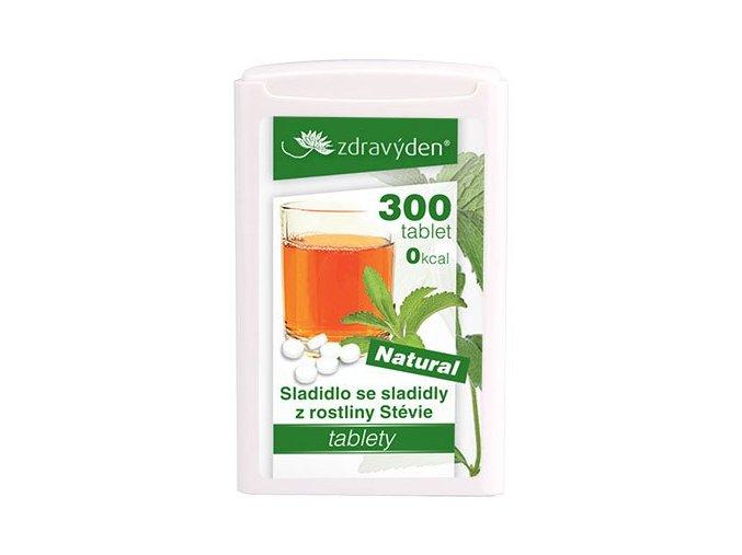 Zdravý den Sladidlo 300 tablet, 18g