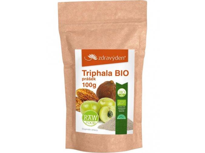 Zdravý den Triphala BIO prášek 100g