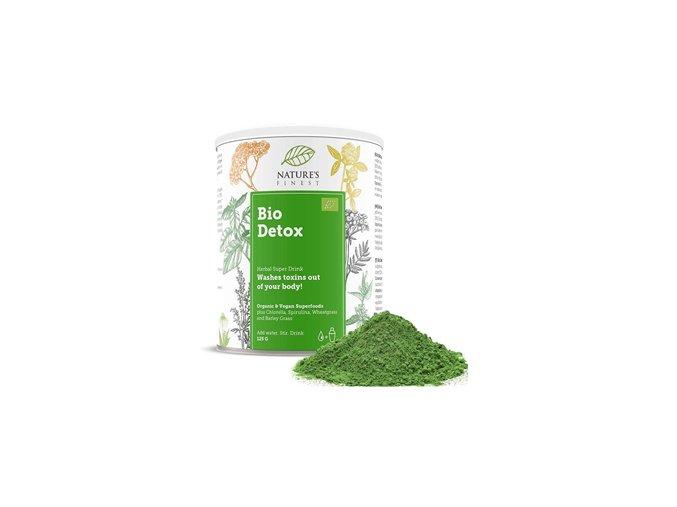Nutrisslim Detox Supermix Bio 125g  + šťavnatá tyčinka ZDARMA