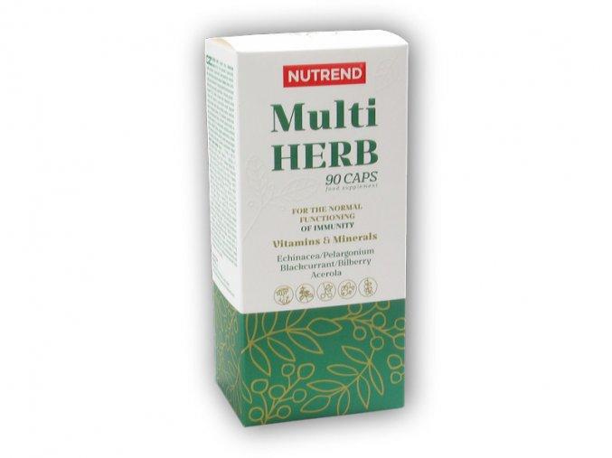 Nutrend Multi Herb 90 kapslí  + šťavnatá tyčinka ZDARMA