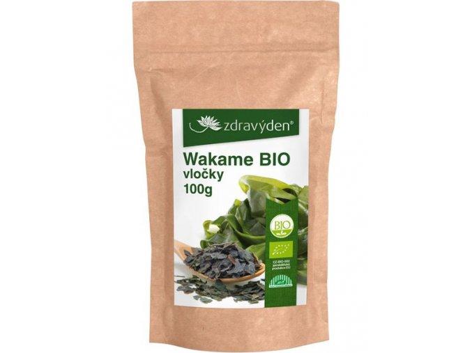 Zdravý den Wakame BIO vločky 100g
