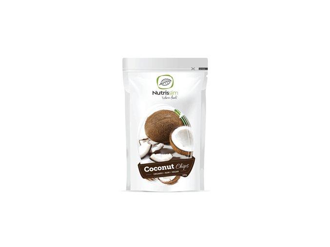 Nutrisslim Coconut Chips Bio 100g (Kokosové lupínky)