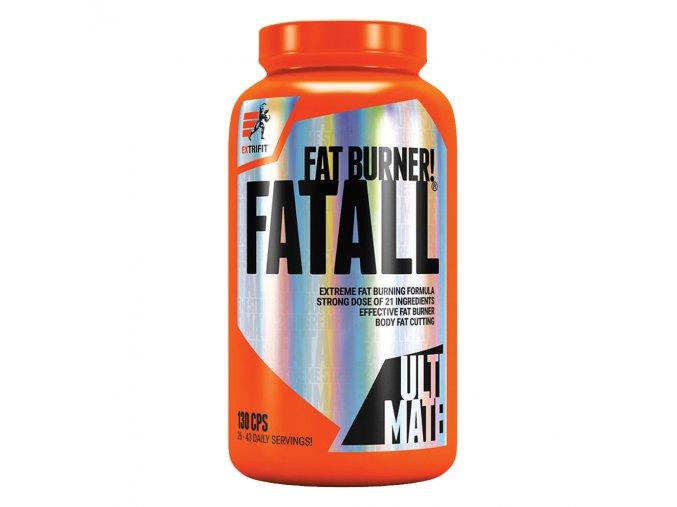 Extrifit Fatall Ultimate Fat Burner 130 kapslí  + šťavnatá tyčinka ZDARMA