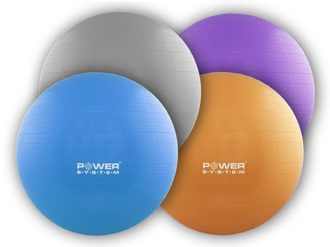Ariana Gymnastický míč POWER GYMBALL 75cm  + šťavnatá tyčinka ZDARMA