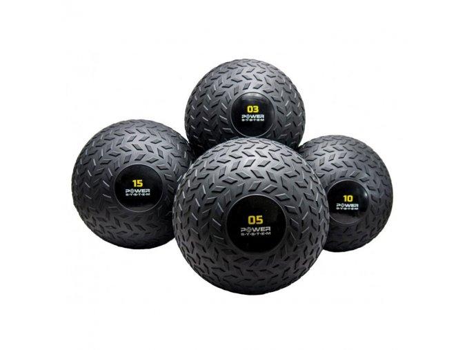 Ariana Powersystem Posilovací míč SLAM BALL 3kg  + šťavnatá tyčinka ZDARMA
