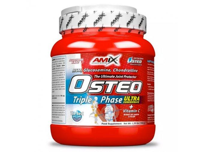 Amix Osteo TriplePhase Concentrate 700g  + šťavnatá tyčinka ZDARMA