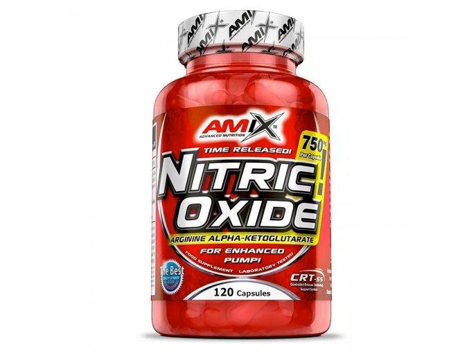 Amix Nitric Oxide 750mg 120 kapslí  + šťavnatá tyčinka ZDARMA