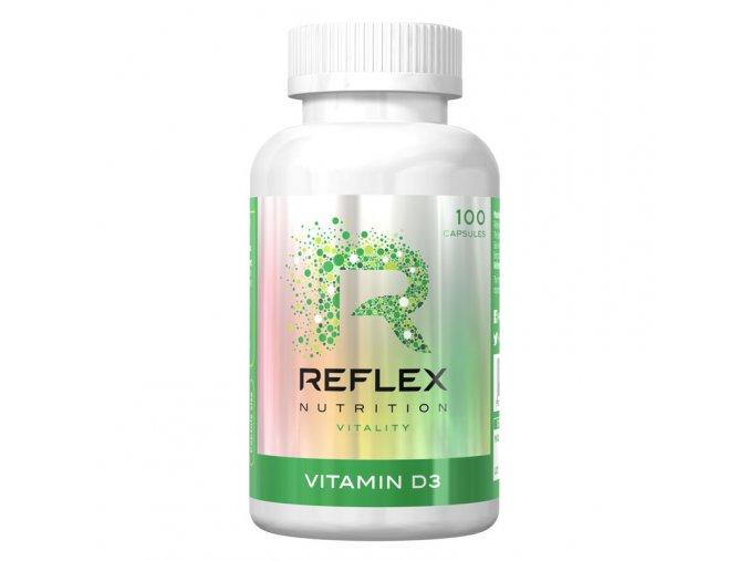 Reflex Nutrition Vitamin D3 100 kapslí AKCE
