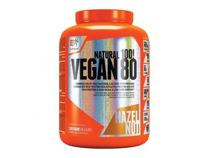 PROTEIN Extrifit Vegan 80 2000g  + šťavnatá tyčinka ZDARMA