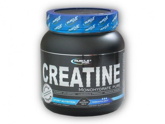 Musclesport Creatine Monohydrate Pure 500g