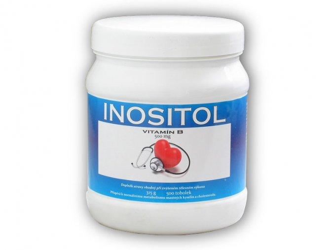 Nutristar Inositol 500mg 500 kapslí  + šťavnatá tyčinka ZDARMA