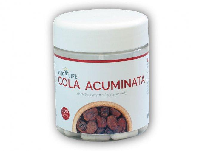 Vito Life Cola Acuminata 100 kapslí  + šťavnatá tyčinka ZDARMA