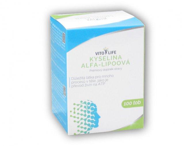 Vito Life ALA kyselina Alfa Lipoová 330mg 100 kapslí  + šťavnatá tyčinka ZDARMA