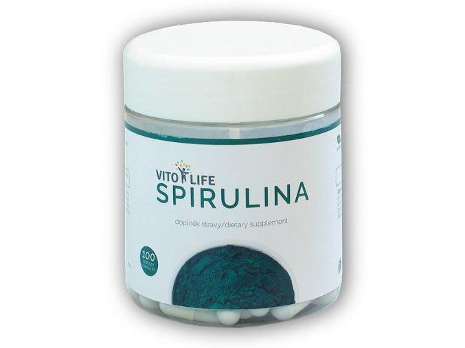 Vito Life Spirulina 100 kapslí