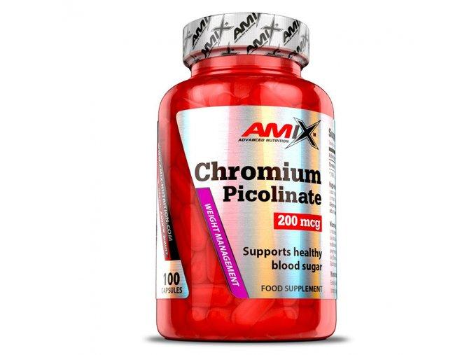 Amix Chromium Picolinate 200mcg 100 kapslí