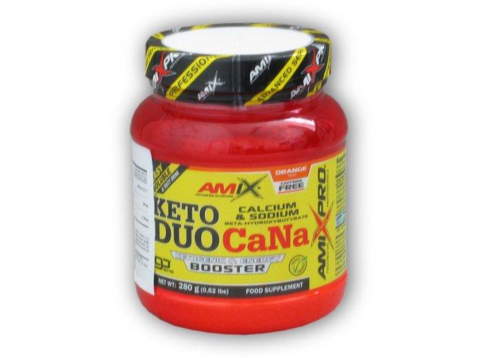 Amix Pro Series Keto DUO CaNa goBHB 280g  + šťavnatá tyčinka ZDARMA