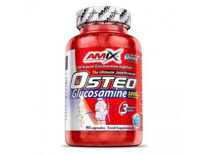 Amix Osteo Glucosamine 1000mg 90 kapslí