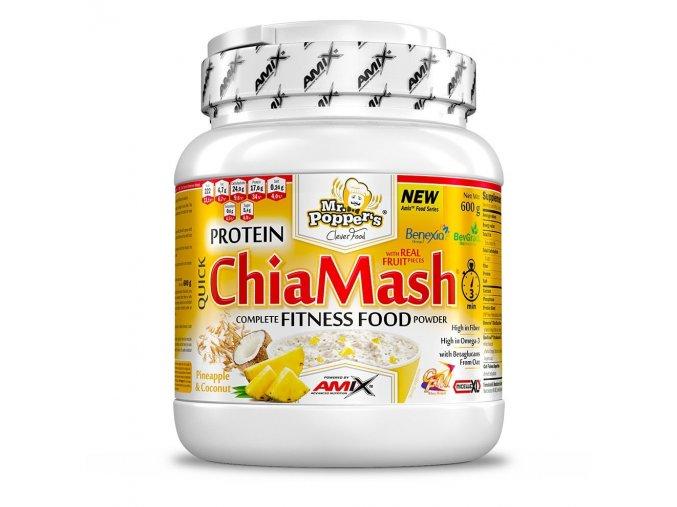 Amix Mr.Popper´s Protein ChiaMash 600g  + šťavnatá tyčinka ZDARMA
