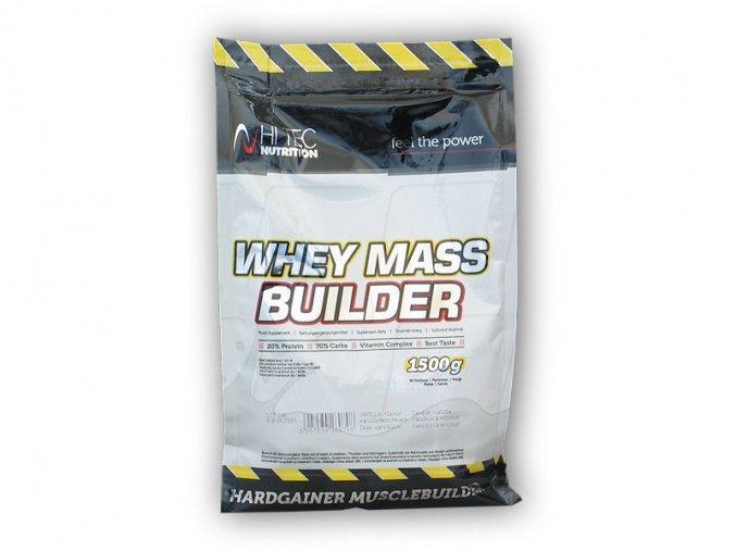 Hi Tec Nutrition Whey Mass Builder 1500g  + šťavnatá tyčinka ZDARMA